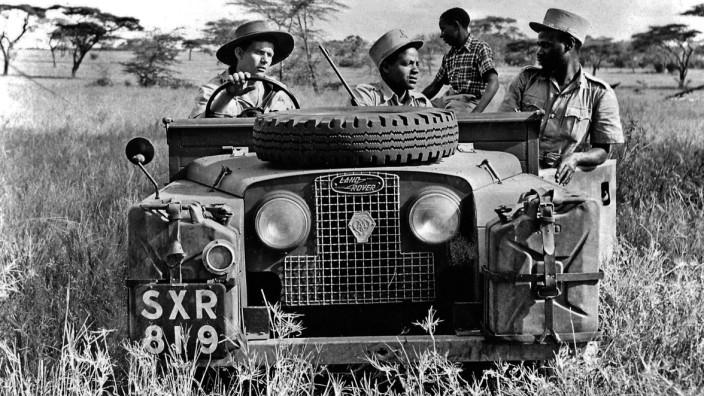Land Rover Defender in Afrika