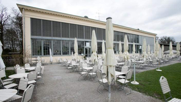 Palmenhaus, Schloß Nymphenburg 43, Frühstückscafé, Cafe