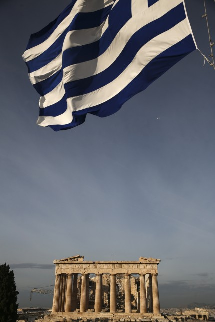 General Economy And Acropolis As Greece Hits Back Against International Monetary Fund