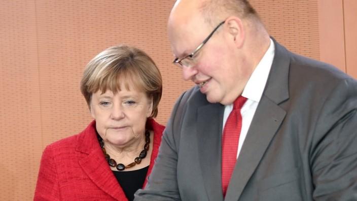 Kanzleramtsminister Peter Altmaier