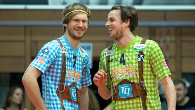 Ferdinand TILLE 7 HER und Patrick STEUERWALD 4 HER Volleyball TSV Herrsching HER Solin