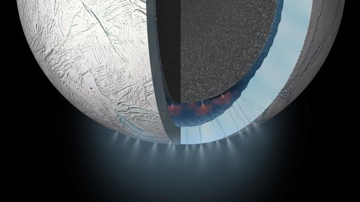 Enceladus Leben