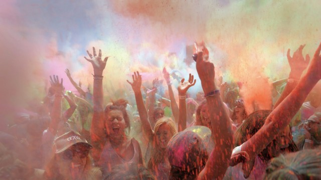 South Africa Holi One Color Festival
