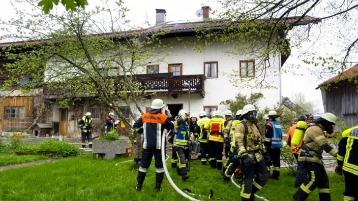 Brand Bauernhaus Kulbing