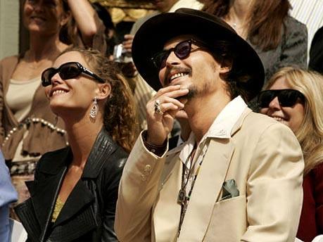Johnny Depp und Vanessa Paradis