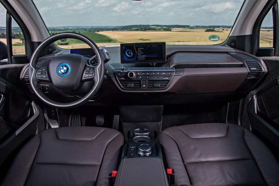 Der Innenraum des neuen BMW i3.