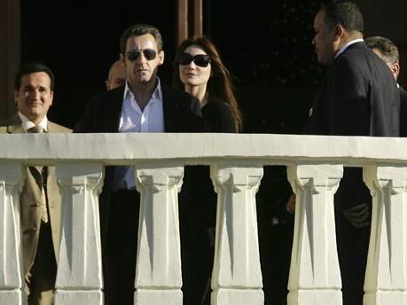 Bruni, Sarkozy, AP