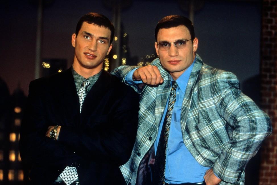 Wladimir Klitschko Vitali Klitschko Harald Schmidt