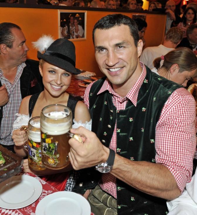 Boris Becker Oktoberfest Charity zugunsten von fit 4 future im Hippodrom am 25 September 2010 Wl; Wladimir Klitschko Hayden