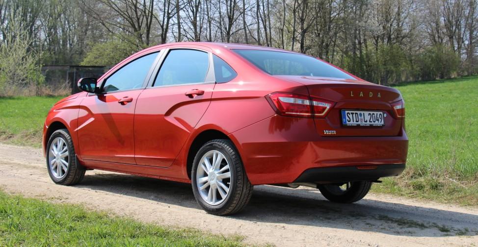 Der neue Lada Vesta.