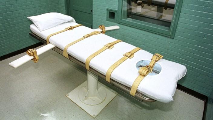 Hinrichtungskammer in Texas