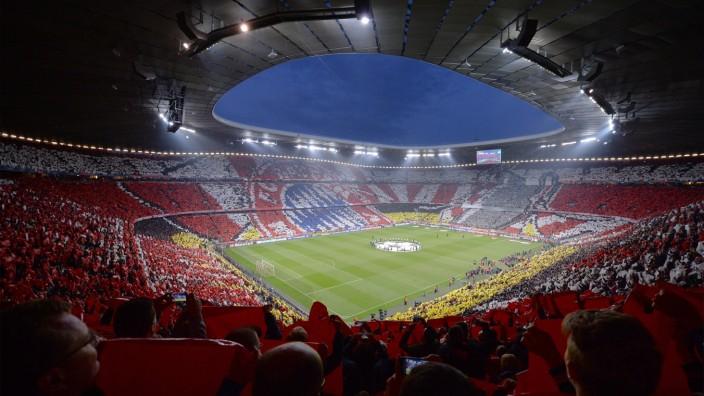 FUSSBALL CHAMPIONS LEAGUE HALBFINALE RUECKSPIEL SAISON 2013 2014 FC Bayern München 29 04 2014 Die
