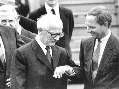 Schäuble, Honecker