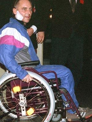 Schäuble, sechs Wochen nach dem Attentat