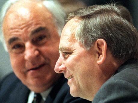 Kohl und Schäuble