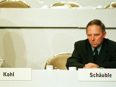 Schäuble nach dem Rücktritt Kohls