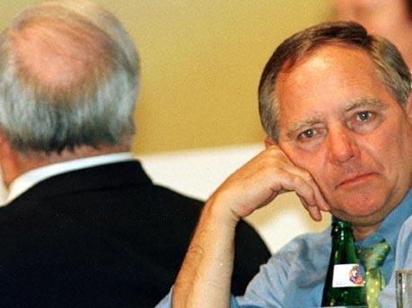 Schäuble und Kohl