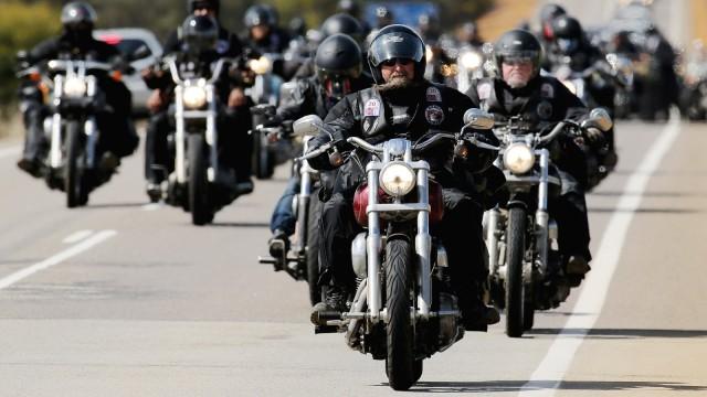 Rebels Bike Gang Wind Up Annual National Run