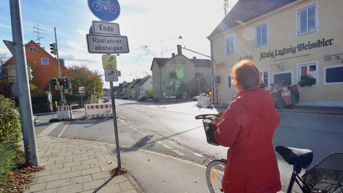 Ende Radweg