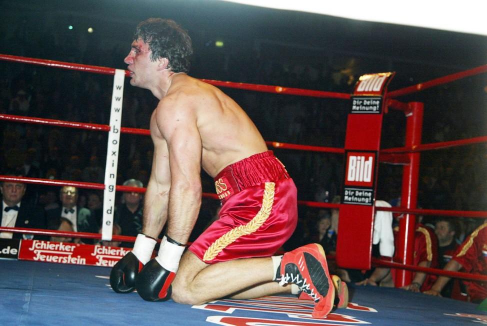 Hannover WBO Weltmeisterschaft im Schwergewicht 8 3 03 Preussag Arena Hannover Dr Wladimir Klits