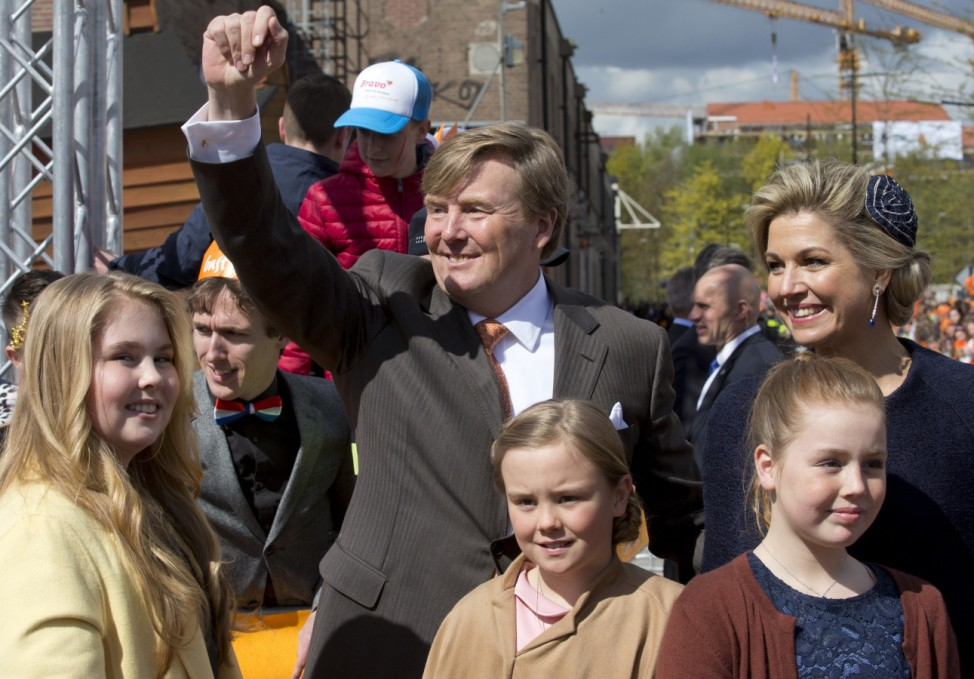 Königstag in den Niederlanden