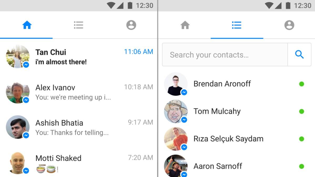 Messenger Lite Ein Facebook Messenger, der nicht nervt   Digital ...