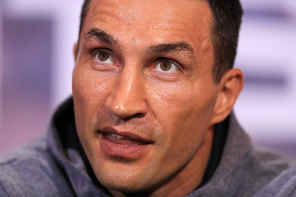 Anthony Joshua v Wladimir Klitschko Press Conference