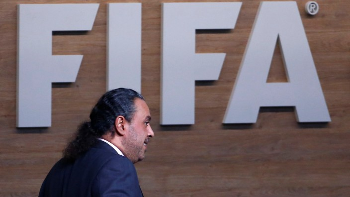 FILE PHOTO - FIFA executive committee member Sheikh Ahmad Al-Fahad Al-Sabah attends Extraordinary Congress in Zurich