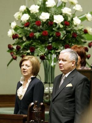 Lech Kaczynski, AFP