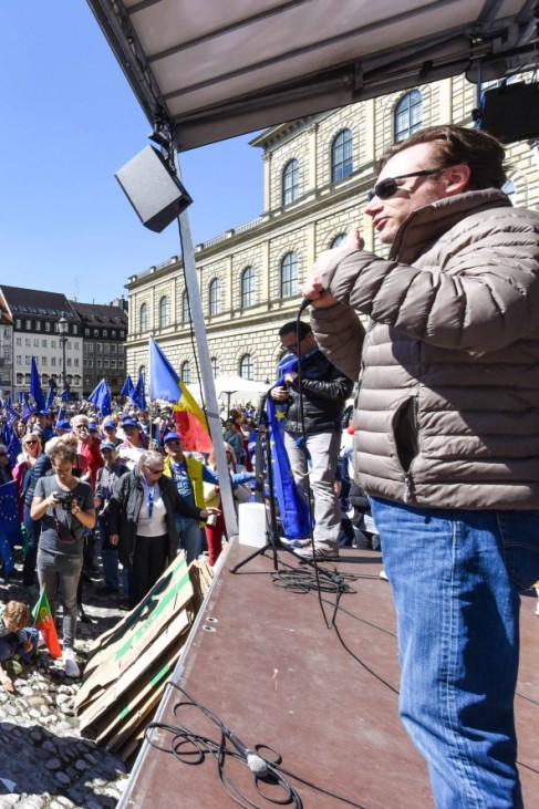 Michael Bully Herbig bei Pulse of Europe