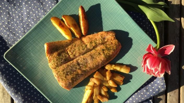 """Foodblog """"Lecker auf Rezept"""" zu Spargel-Rhabarber-Gemüse"""