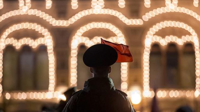 Militärparade Russland