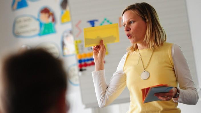 Mundart Unterricht in einer Münchner Grundschule, 2014