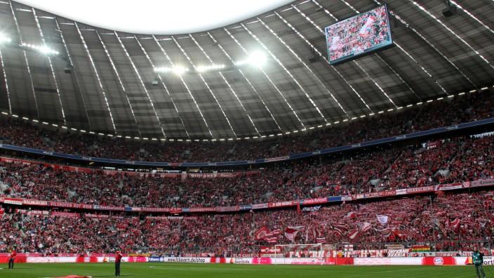 FC Bayern München Südkurve Fussball Allianz Arena München FC Bayern München SC Freiburg 15