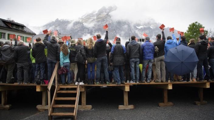 Abstimmung in Glarus