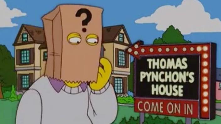The Simpsons Thomas Pynchon