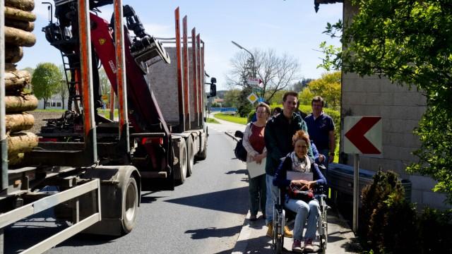 Wheelmap.org Besichtigung Steinhöring
