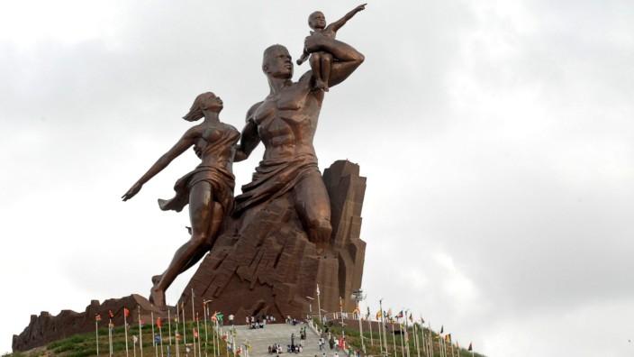 Le Monument de la Renaissance africaine - Senegal