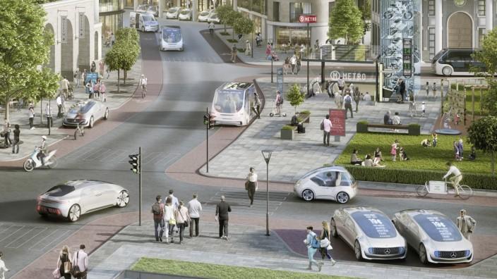 Mobilität der Zukunft: Bosch und Daimler kooperieren beim vollautomatisierten und fahrerlosen Fahren
