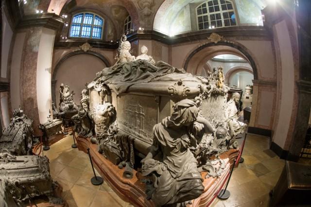 Doppelsarkophag für Kaiserin Maria Theresia und Gemahl