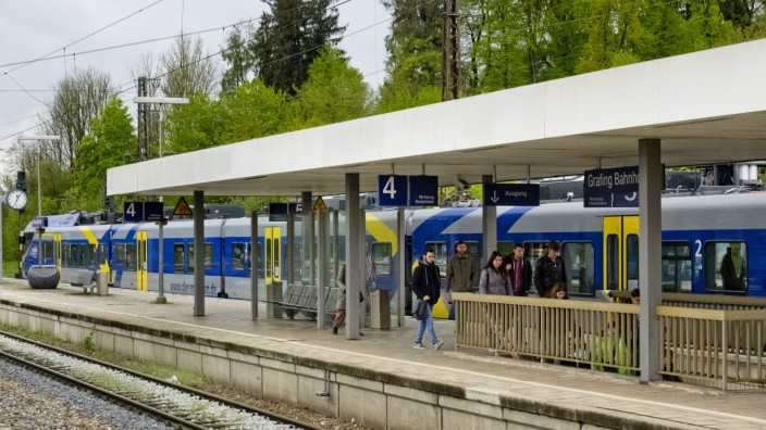Meridian in Grafing Bahnhof