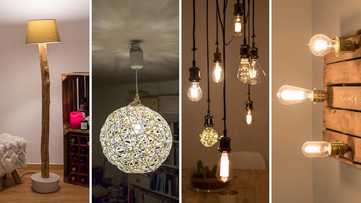 Diy Vier Lampen Zum Selbstbauen Stil Sz De