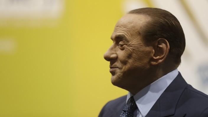 Italien: Wittert für sich und seine Partei Forza Italia wieder Morgenluft: Italiens Ex-Premier Silvio Berlusconi.
