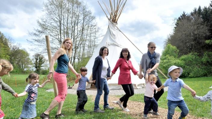 Machtlfing: Waldkindergarteneröffnung