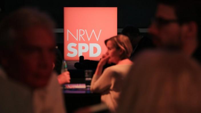 Landtagswahl in Nordrhein-Westfalen - SPD