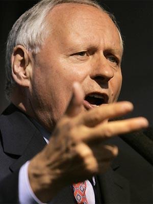 Oskar Lafontaine Rücktritt, AFP