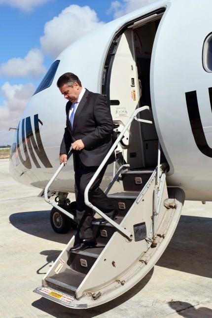 Außenminister Gabriel besucht Somalia