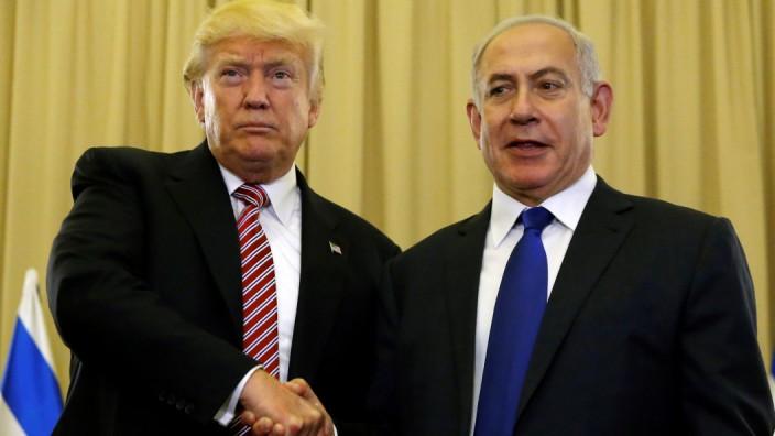 Trump und Netanjahu