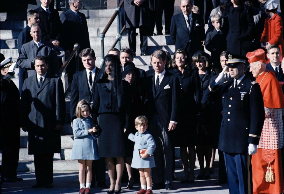 Jacqueline Kennedy, Caroline Kennedy, John F. Kennedy Jr., John John, Ted Kennedy, Bobby Kennedy