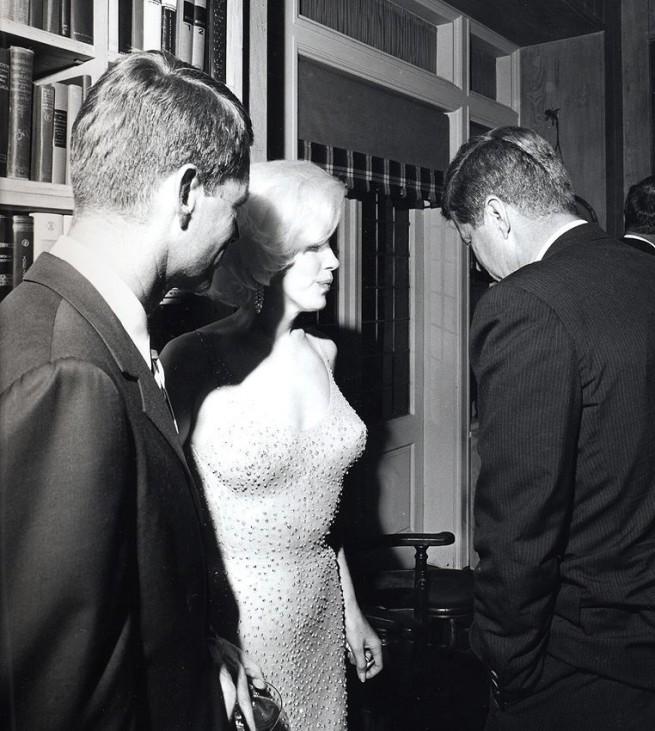 Einziges Foto von Marilyn und JFK bei Auktion